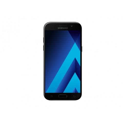 "SMARTPHONE SAMSUNG GALAXY A5 (2017) SM A520F 32 GB OCTA CORE 5.2"" SUPER AMOLED 16 MP 4G LTE WIFI BLUETOOTH ANDROID REFURBISHED BLACK SKY"