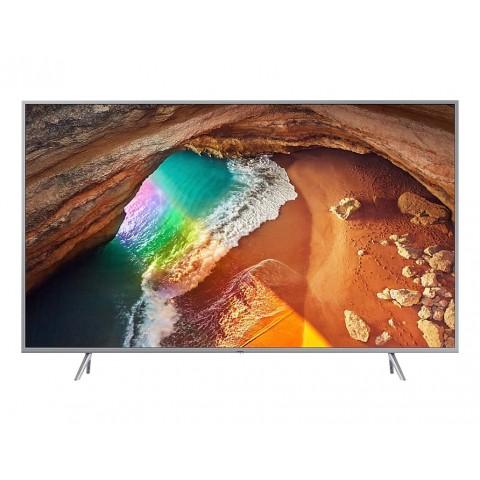 """TV 65"""" SAMSUNG QE65Q64RAT QLED SERIE Q64R 2019 4K ULTRA HD SMART WIFI 3100 PQI USB HDMI REFURBISHED SILVER / INOX"""