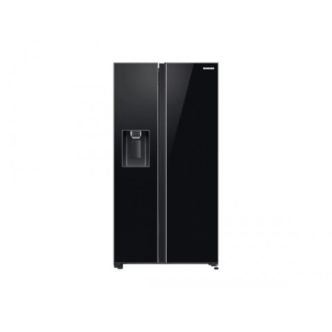 FRIGORIFERO SAMSUNG SIDE BY SIDE RS65R54412C NERO 617 L NO FROST DIGITAL INVERTER DISPENSER ACQUA E GHIACCIO LIBERA INSTALLAZIONE REFURBISHED CLASSE A+