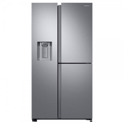 FRIGORIFERO SAMSUNG SIDE BY SIDE RS6GN8671SL / RS68N8671SL RS8000 3 PORTE INOX 604 L TOTAL NO FROST DIGITAL INVERTER DISPENSER ACQUA E GHIACCIO LIBERA INSTALLAZIONE REFURBISHED CLASSE A++