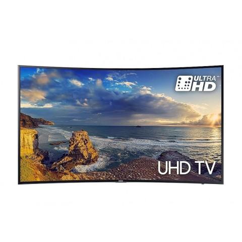 "TV 49"" SAMSUNG UE49MU6200 LED SERIE 6 CURVO 4K ULTRA HD SMART WIFI 1400 PQI HDMI USB REFURBISHED SENZA BASE CON STAFFA A MURO"
