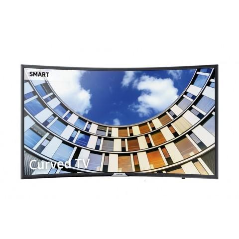 "TV 55"" SAMSUNG UE55M6300 LED SERIE 6 FULL HD CURVO SMART WIFI 900 PQI HDMI USB REFURBISHED SENZA BASE CON STAFFA A MURO"
